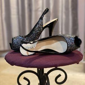 Woman's Guess Peep Toe Heels